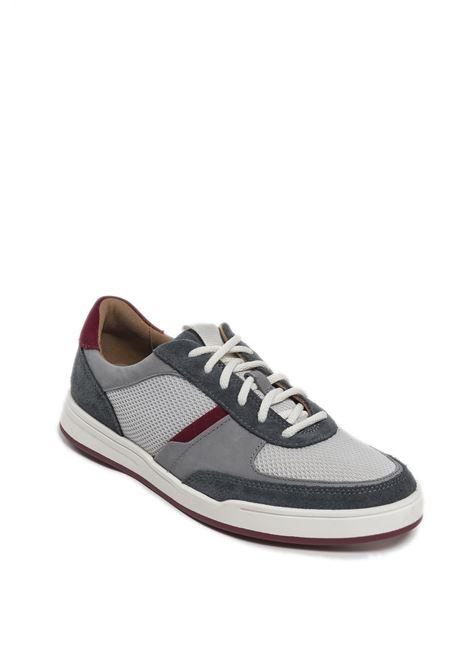 Sneaker bizby grigio CLARKS ENGLAND | Sneakers | 159659BIZBY-GREY