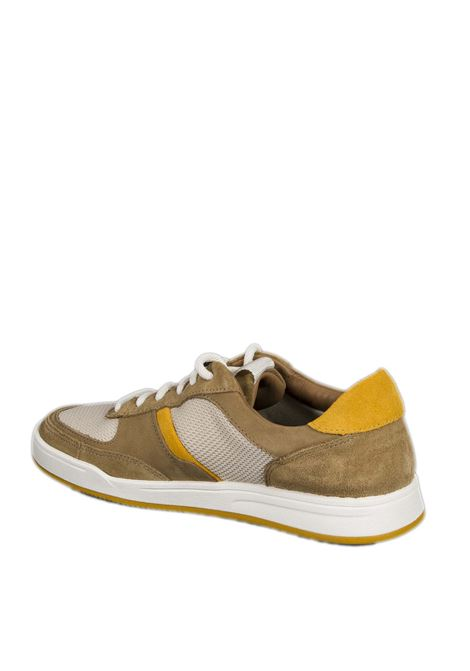 Sneaker bizby cuoio CLARKS ENGLAND | Sneakers | 159660BIZBY-SAND