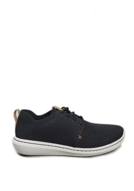 Sneaker step urban nero CLARKS ENGLAND | Sneakers | STEP URBAN MIXMESH-BLACK