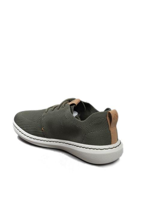 Sneaker step urban verde CLARKS ENGLAND | Sneakers | STEP URBAN MIXMESH-KHAKI