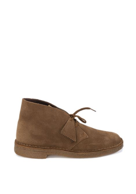 Polacchino desert boot cuoio CLARKS ORIGINAL | Stringate | 138230DESERTBOOT-COLA