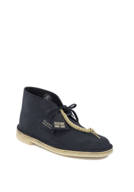 Polacchino desert boot blu CLARKS ORIGINAL | Stringate | 155478DESERTBOOT-INK