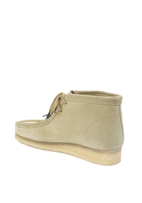 Polacchino wallabe panna CLARKS ORIGINAL | Stringate | 155516WALLABE-MAPLE