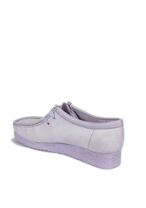 Polacchino wallabee lilla CLARKS ORIGINAL | Stringate | 156619WALLABEE-LILIAC