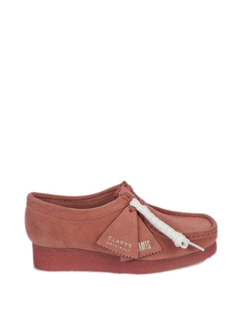 Polacchino wallabee rosa CLARKS ORIGINAL | Stringate | 156623WALLABEE-D.BLUSH