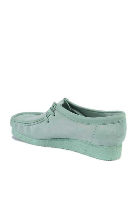 Polacchino wallabee menta CLARKS ORIGINAL | Stringate | 156626WALLABEE-MINT