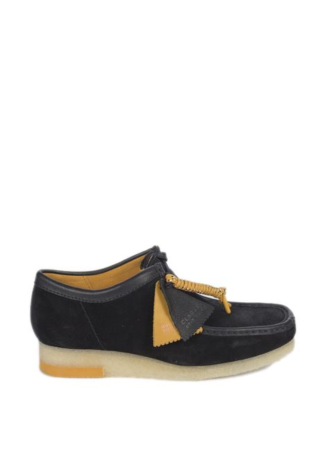 Polacchino wallabee combi nero CLARKS ORIGINAL | Stringate | 157369WALLABEE COMBI-BLACK