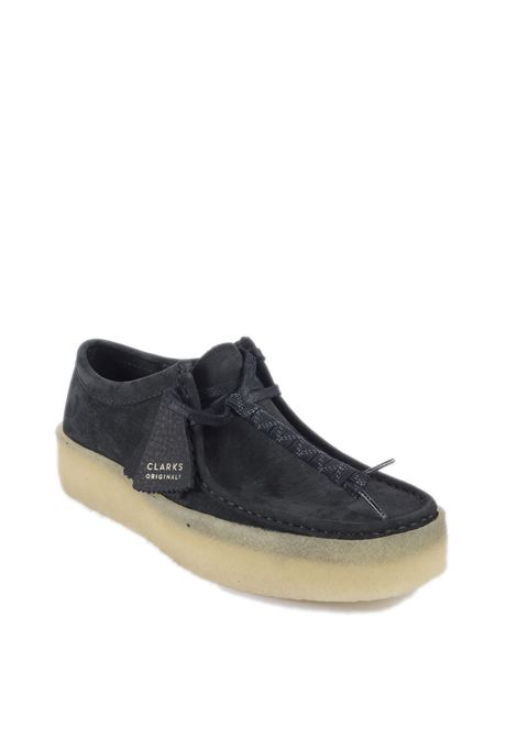 Polacchino wallabee cup nero CLARKS ORIGINAL | Stringate | 158144WALLABEE CUP-BLACK