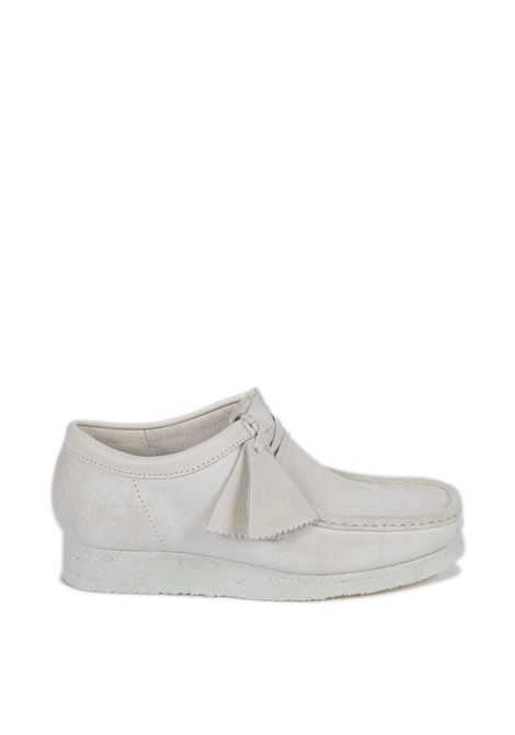 Polacchino wallabee bianco CLARKS ORIGINAL | Stringate | 158421WALLABEE-WHITE
