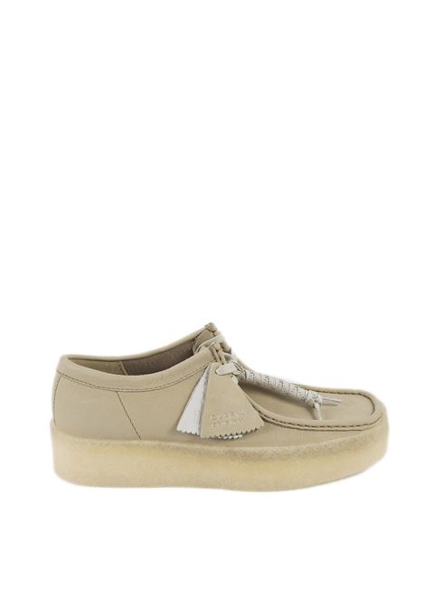 Polacchino wallabee cup beige CLARKS ORIGINAL | Stringate | 160517WALLABE CUP-MAPLE