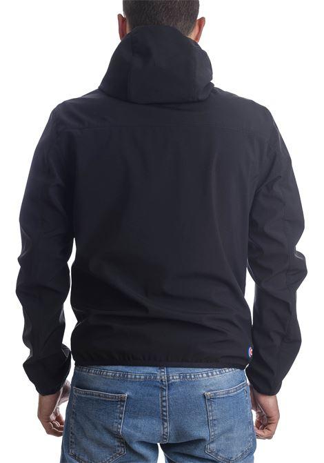 Giubbino stretch cappuccio nero COLMAR | Giubbini | 18614UL-99