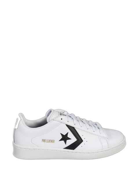 Sneaker pro leather bianco/nero CONVERSE | Sneakers | 167237CPRO LEATHER-WHITE/BLACK
