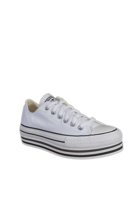 Sneaker chuck taylor platform bianco CONVERSE | Sneakers | 563971CCHUCK TAYLOR-WHITE