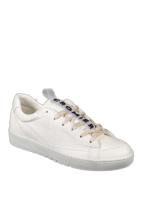 Sneaker matera bianco CROMIER | Sneakers | 5C38MATERA-BIANCO