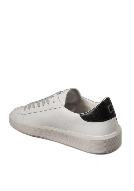 Sneaker ace calf bianco/nero D.A.T.E | Sneakers | ACECALF-WHI/BLACK