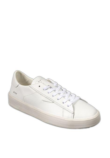 Sneaker ace calf bianco D.A.T.E | Sneakers | ACECALF-WHITE