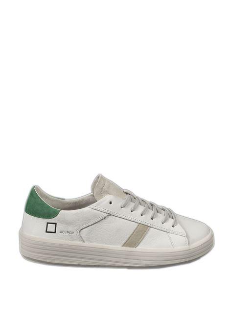 Sneaker ace pop bianco/verde D.A.T.E | Sneakers | ACEPOP-WHI/GREEN