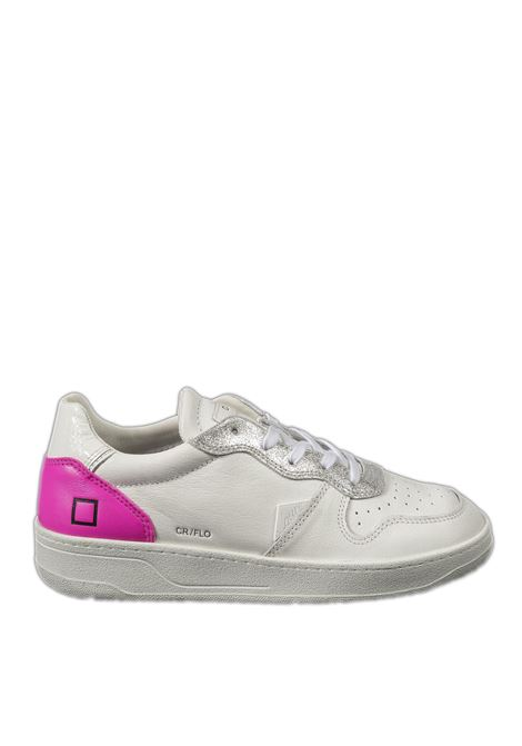 Sneaker court fluo bianco/fuxia D.A.T.E | Sneakers | COURT DFLUO-WHI/FUXIA