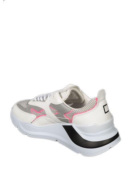 Sneaker fuga flash bianco/fuxia D.A.T.E | Sneakers | FUGA DFLASH-WHI/FUXIA