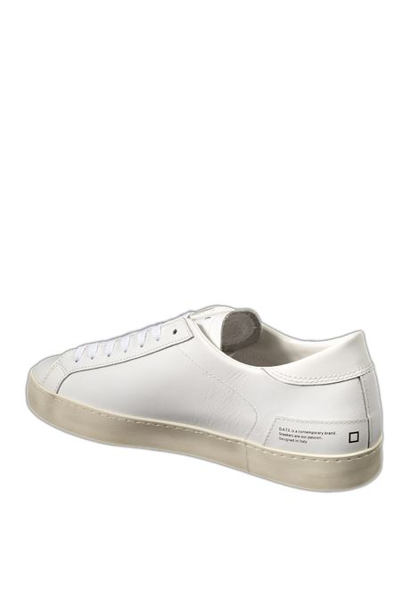 Sneaker hill low calf  bianco D.A.T.E | Sneakers | HILL LOW UCALF-WHITE