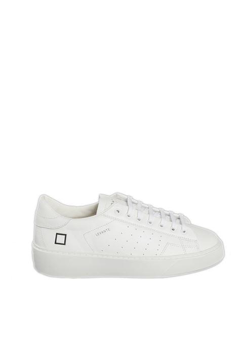 Sneaker levante calf bianco D.A.T.E. | Sneakers | LEVANTECALF-WHITE