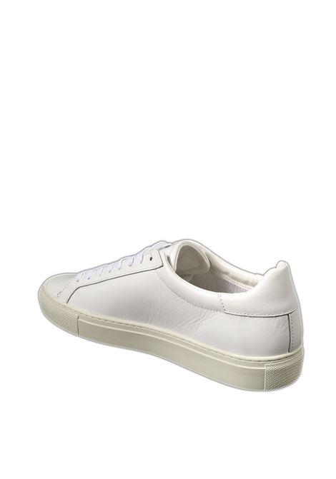 Sneaker newman calf bianco D.A.T.E | Sneakers | NEWMANCALF-WHITE