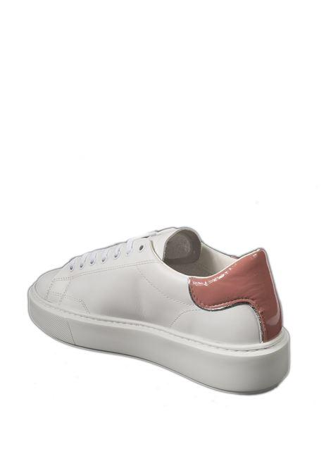 Sneaker sfera claf  bianco/rosa D.A.T.E | Sneakers | SFERACALF-WHI/PINK