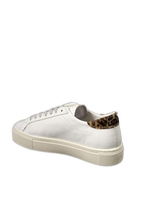 Sneaker vertigo calf bianco/leopard D.A.T.E | Sneakers | VERTIGOCALF-WHI/LEOPARD