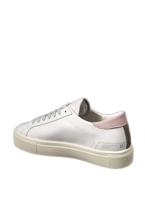 Sneaker vertigo calf bianco/rosa D.A.T.E | Sneakers | VERTIGOCALF-WHI/PINK