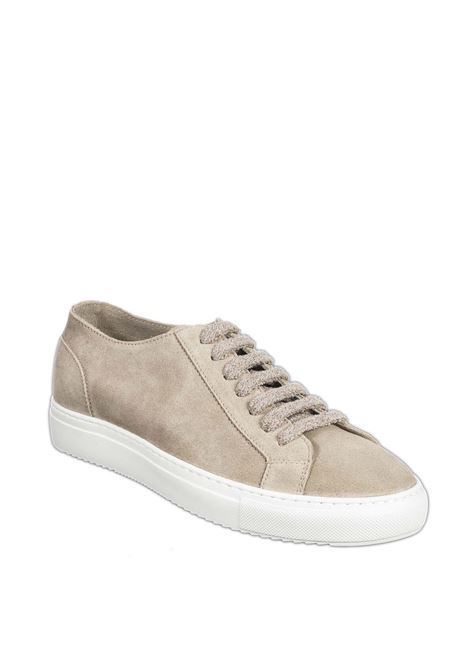 Sneaker wash sabbia DOUCAL'S   Sneakers   2335WASH-GALET
