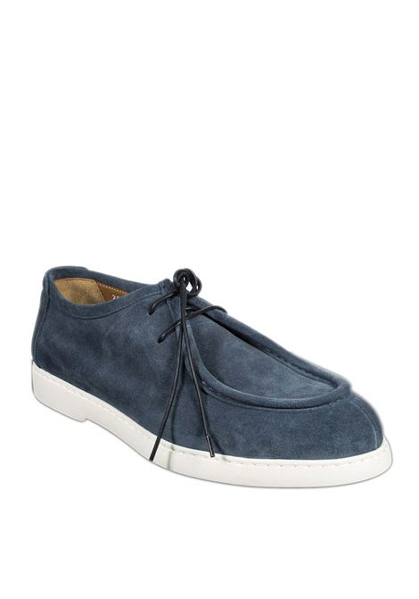 Stringate wash blu DOUCAL'S | Stringate | 2856WASH-OCEANO