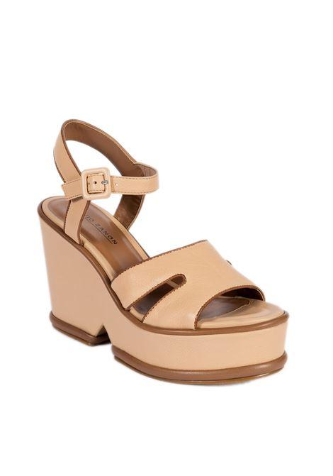 Sandalo von tria cuoio/nude ELVIO ZANON | Sandali | 3801ZEFIRO-CUOIO/NUDE
