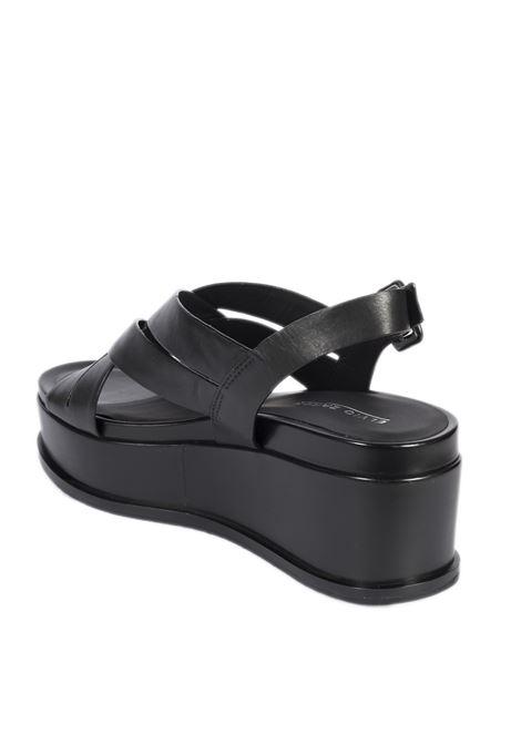 Sandalo sel trix nero ELVIO ZANON | Sandali | 4002PARMA-NERO