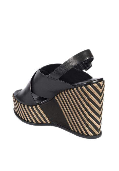 Sandalo strip dalia nero ELVIO ZANON | Sandali | 4401PARMA-NERO