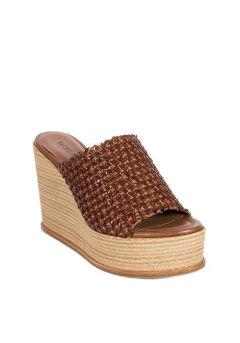 Sandalo lea la cuoio ELVIO ZANON | Sandali | 4703INTRECCIO-CUOIO