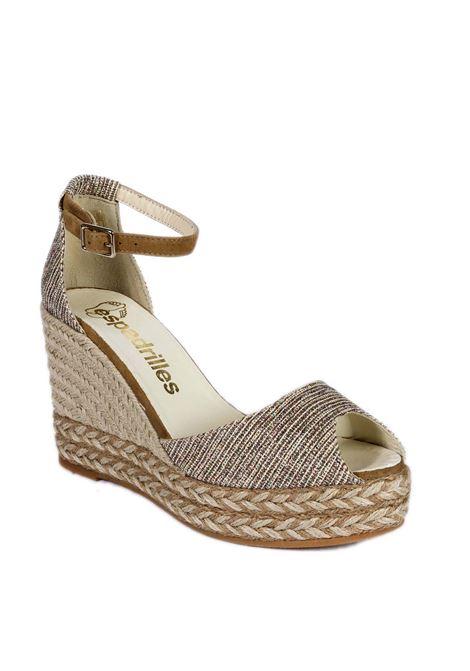 Sandalo anda cama bianco ESPADRILLES | Espadrilles | ANDACAMA-MULTI