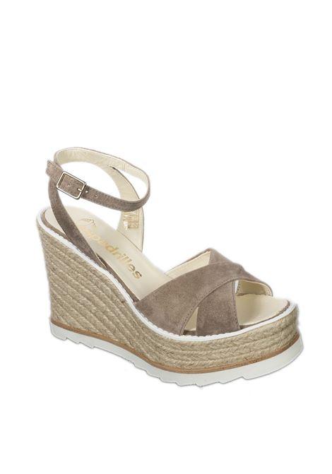 Sandalo beta marrone ESPADRILLES | Espadrilles | BETASILK-BROMO