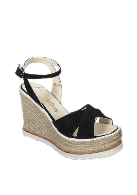Sandalo beta nero ESPADRILLES | Espadrilles | BETASILK-NEGRO