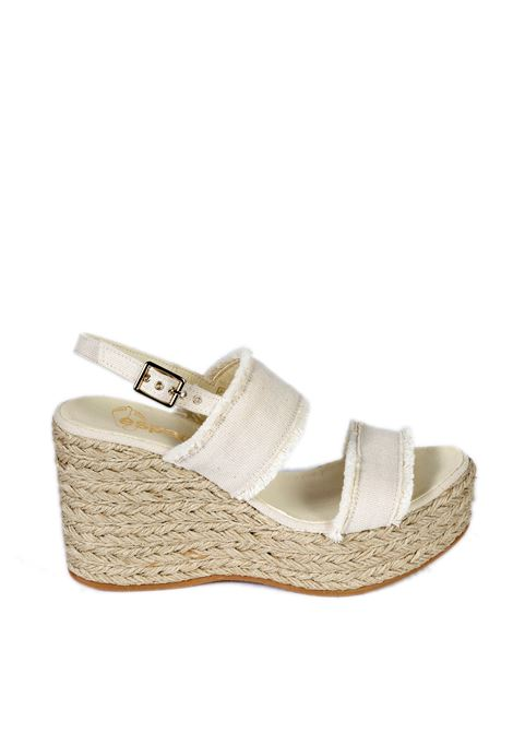 Sandalo flavia crudo ESPADRILLES | Espadrilles | FLAVIALONA-CRUDO