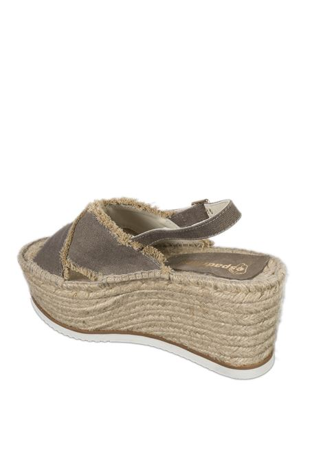 Sandalo mimi taupe ESPADRILLES | Espadrilles | MIMIMEL-TAUPE