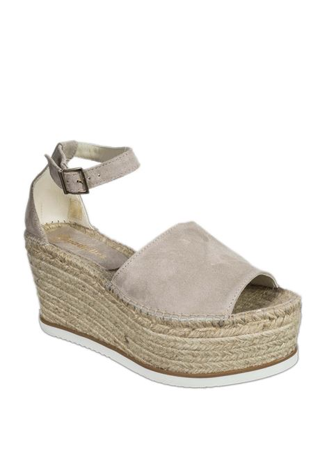 Sandalo monia beige ESPADRILLES | Espadrilles | MONIACAM-STONE