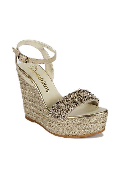 Sandalo norma oro ESPADRILLES | Espadrilles | NORMATRIS-ORO