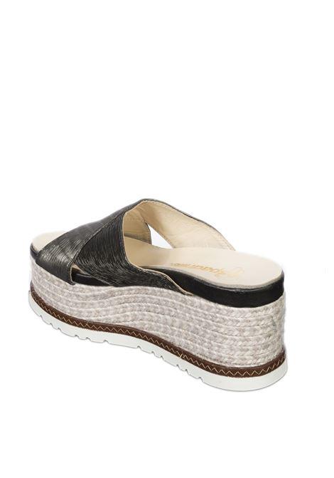 Sandalo quod nero ESPADRILLES | Espadrilles | QUODPLIS-NEGRO