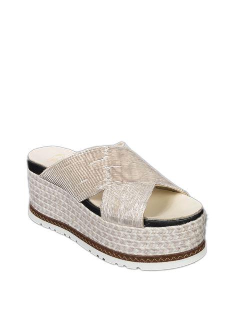 Sandalo quod platino ESPADRILLES | Espadrilles | QUODPLIS-PLATINO