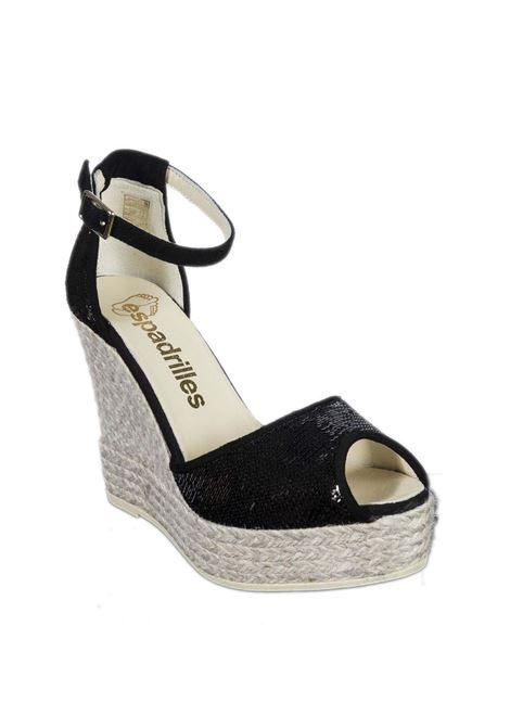 Sandalo sally nero ESPADRILLES | Espadrilles | SELLYTEMPE-NEGRO