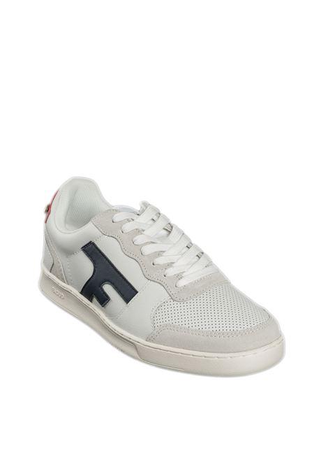 Sneaker hazel blu/rosso FAGUO | Sneakers | CG0302LEATHER-ECR15