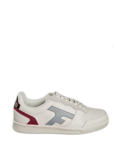 Sneaker hazel grigio/nero FAGUO   Sneakers   CG0302LEATHER-ECR26