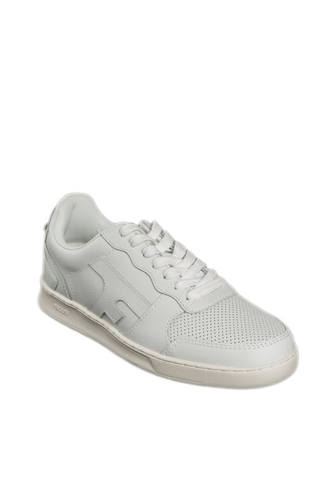 Sneaker hazel bianco FAGUO | Sneakers | CG0303LEATHER-WHI100