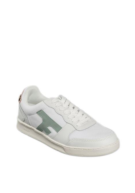 Sneaker hazel verde/cipria FAGUO | Sneakers | CG9302LEATHER-GRE25