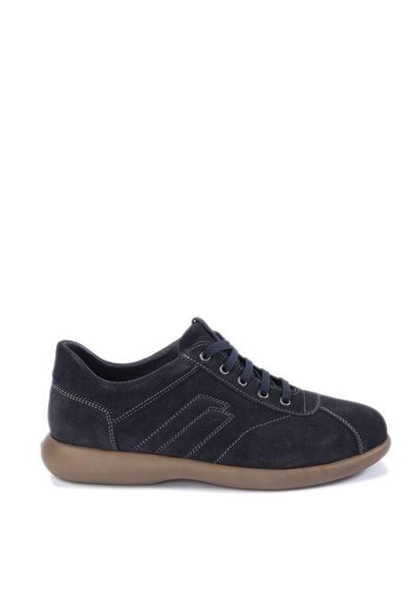 Sneaker suede blu FRAU | Sneakers | 2752SUEDE-BLU